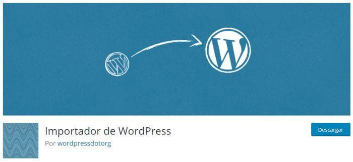 Importador de WordPress