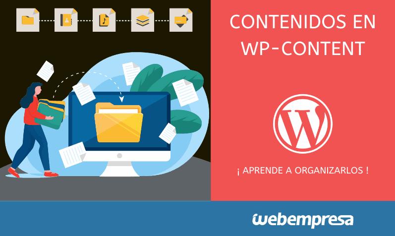Cómo organizar contenidos en WP-Content