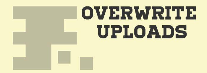 plugin overwriteuploads imagenes