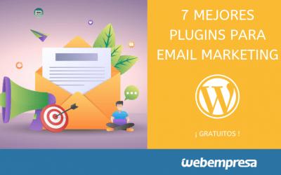 7 mejores plugins de WordPress para Email Marketing