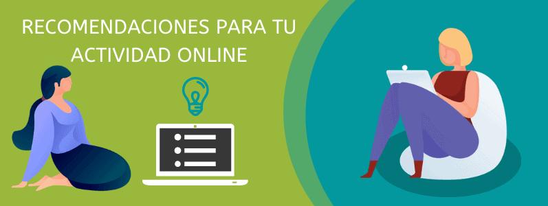 Recomendaciones de Webempresa para tu actividad online