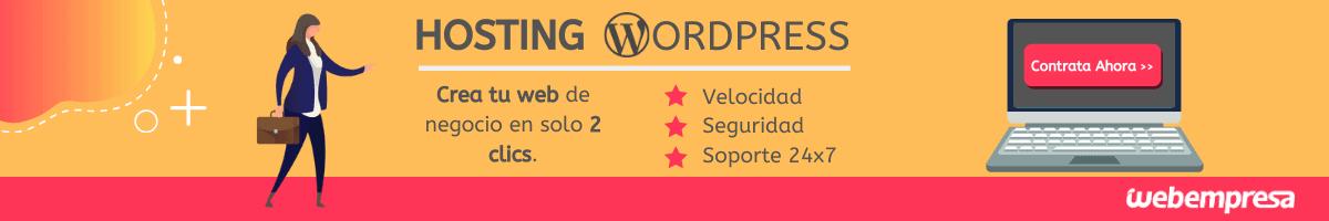 Hosting Seguro Webempresa