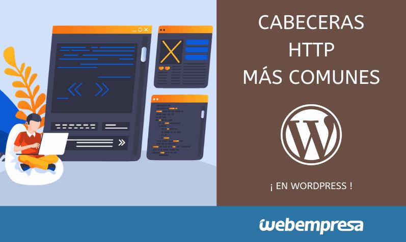 Cabeceras HTTP más comunes