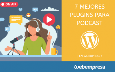 7 Mejores plugins para podcast en WordPress