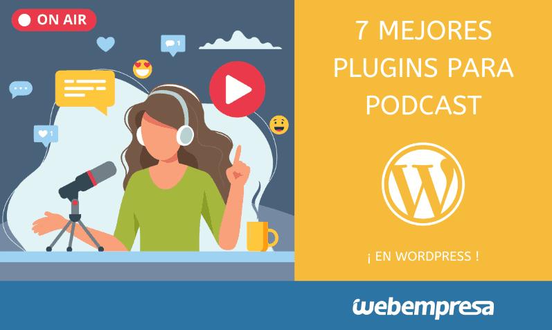 Mejores plugins para podcast en WordPress