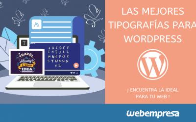 Las mejores tipografías para WordPress
