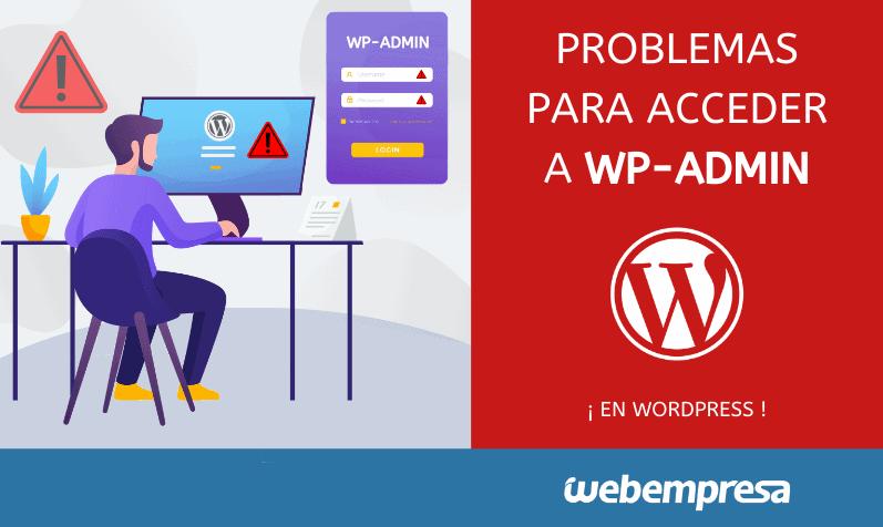 No puedo acceder a WordPress wp-admin