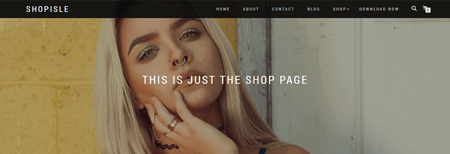 Plantillas WooCommerce ShopIsle