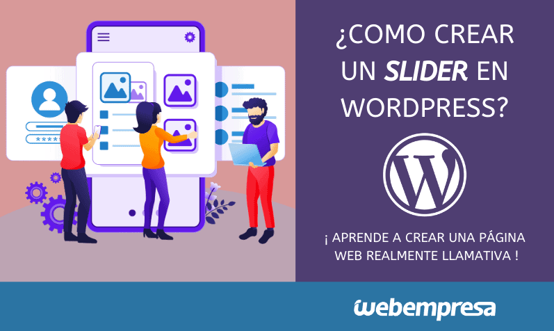 Como crear un Slider en WordPress