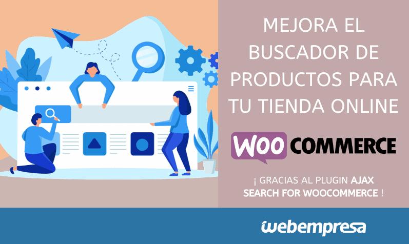 Buscador de productos en WooCommerce
