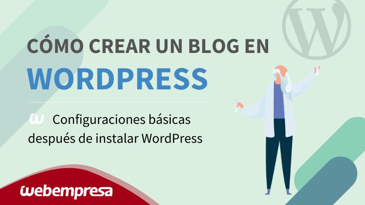 curso wordpress configuracion