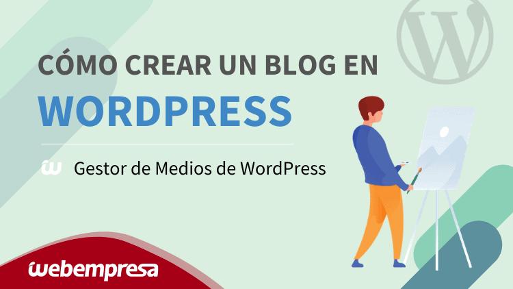 Gestor de Medios de WordPress