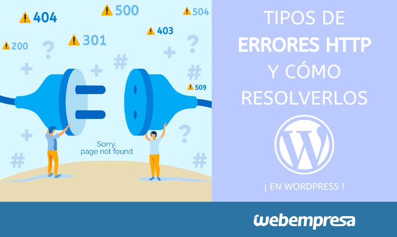 Tipos de errores HTTP y cómo resolverlos