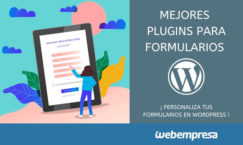 Los mejores plugins para formularios WordPress