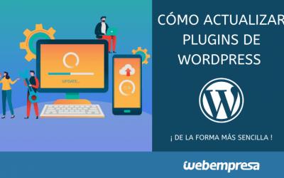 Cómo actualizar plugins de WordPress fácilmente