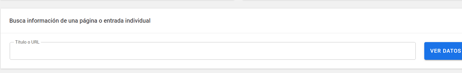 Google Site Kit Buscador
