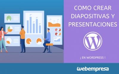 Como crear diapositivas y presentaciones en WordPress