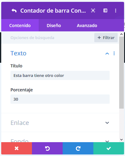 Editar título skill bar o contadores de barra múltiple