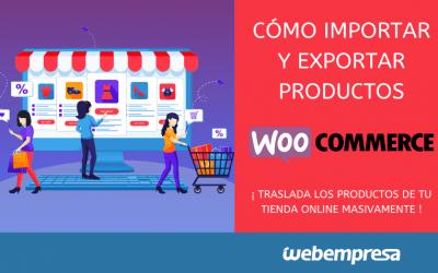 Cómo importar y exportar productos en WooCommerce