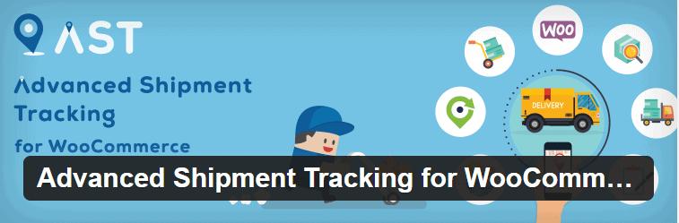 Plugin Advanced Shipment Tracking for WooCommerce