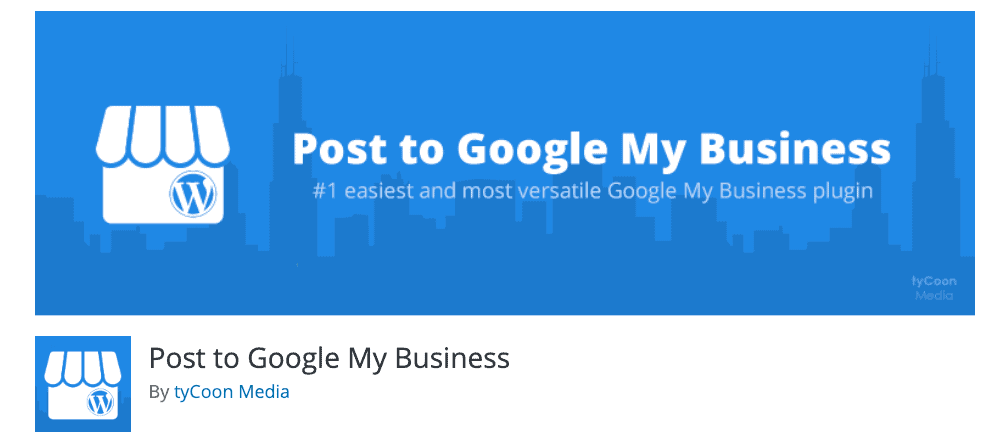 Plugin Post to Google My Business