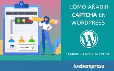 Cómo añadir Captcha en WordPress