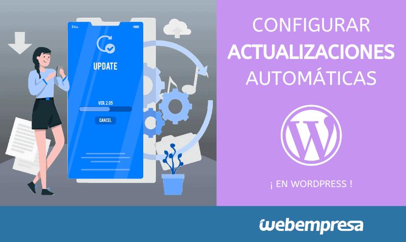 Configurar actualizaciones en WordPress