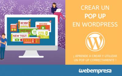 Crear PopUp en WordPress (Mejores plugins)
