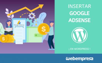 Añadir publicidad de Google AdSense en WordPress