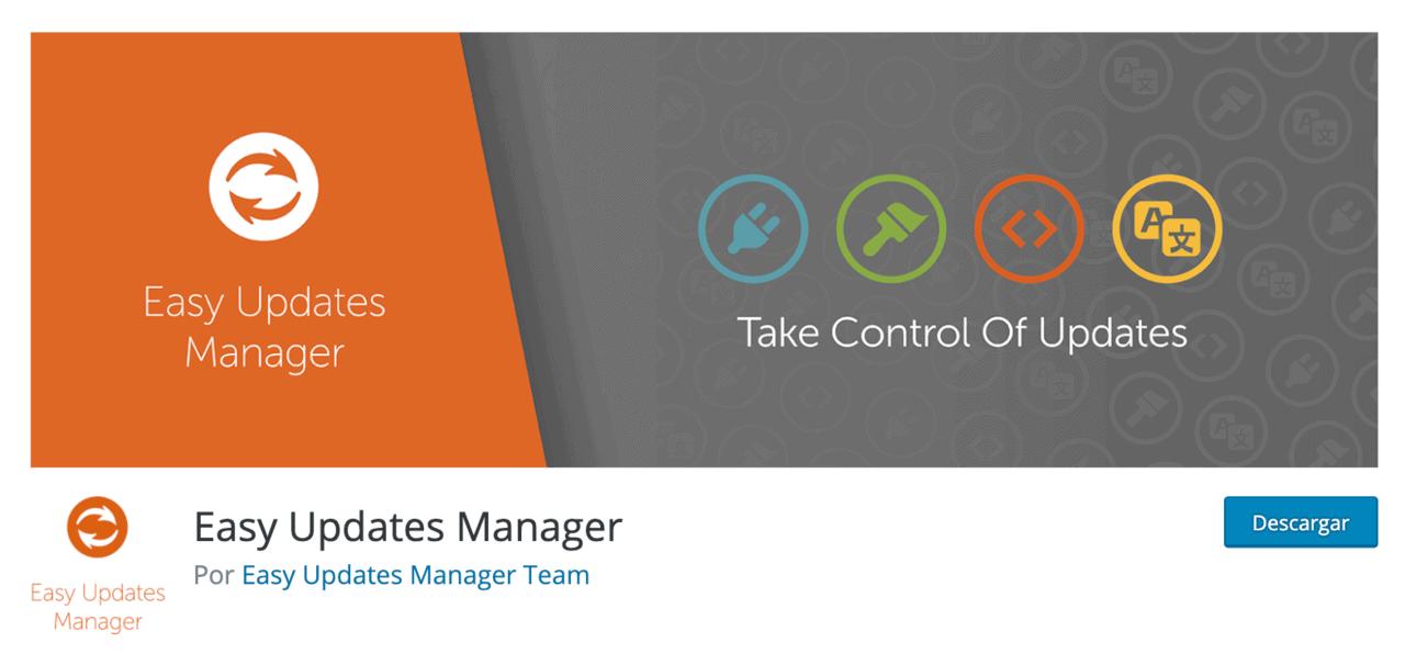 Plugin Easy Updates Manager