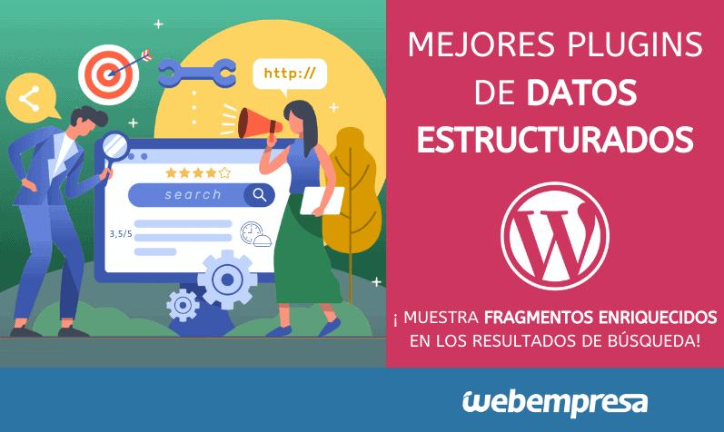 Mejores plugins de datos estructurados para WordPress