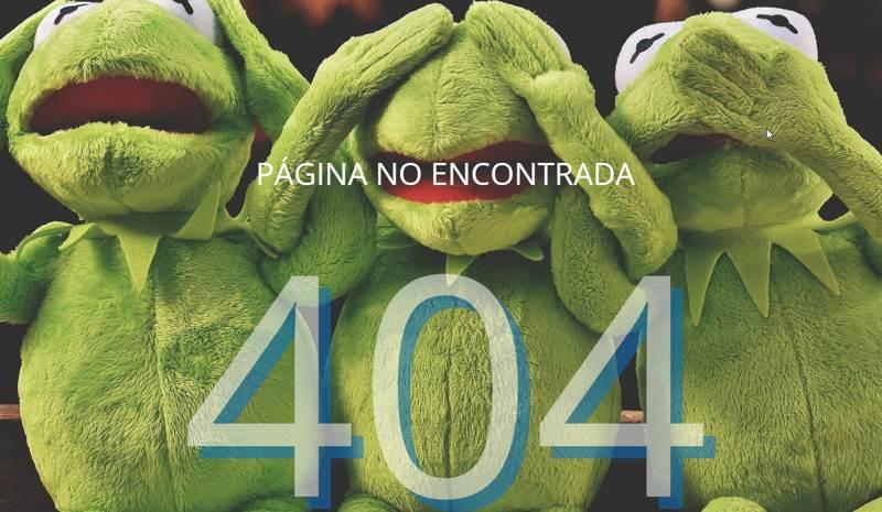 Ejemplo página 404