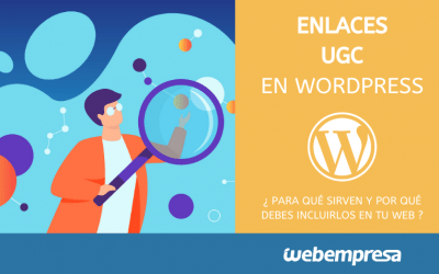 Enlaces UGC en WordPress