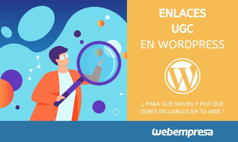 Enlaces UGC en WordPress