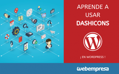 Aprende a usar Dashicons para WordPress