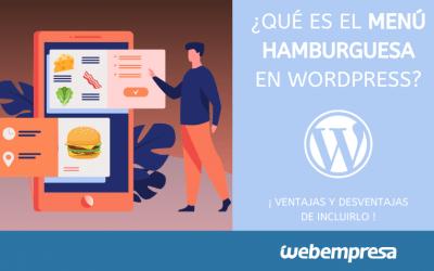 Menú hamburguesa en WordPress: ventajas y desventajas