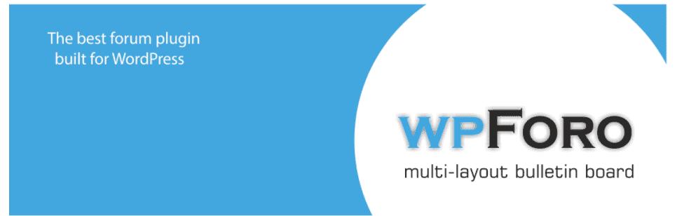 Plugin Wpforo forum