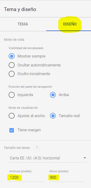 Dimensiones Informe Google Data Estudio