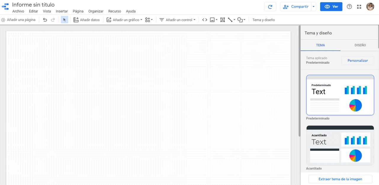 Informe Google Data Estudio