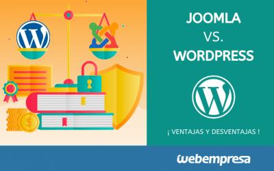 Joomla vs WordPress: ventajas y desventajas