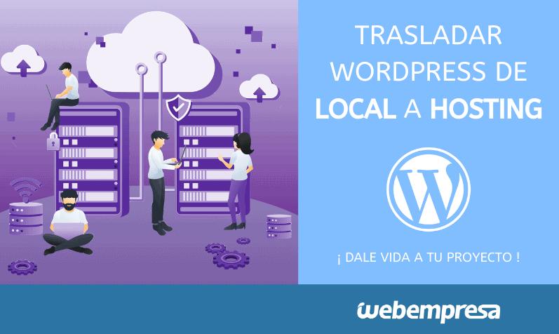 Migrar WordPress de Local a Hosting