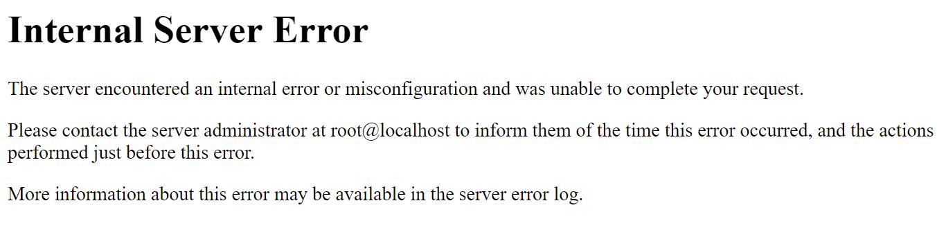 Error 403 Forbidden