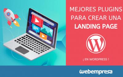 Mejores plugins para crear una landing page en WordPress