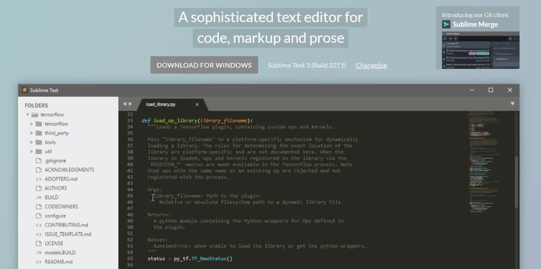 Sublime text un editor de html