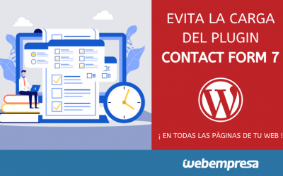 Evitar la carga del plugin Contact form 7 en todas las paginas