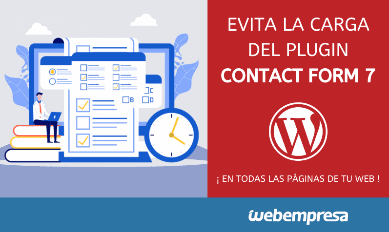 Evitar la carga de Contact form7 en Todas la paginas