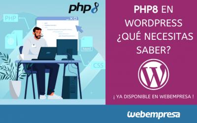 PHP 8 en WordPress, qué necesitas saber