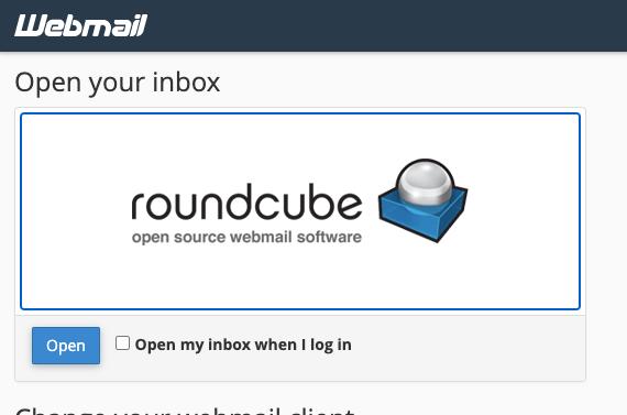 Guía RoundCube