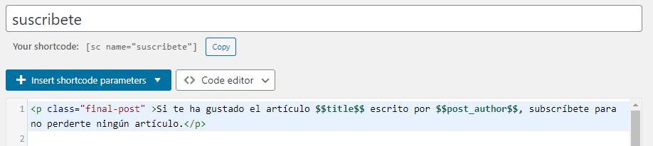 Qué es un shortcode y cómo crearlo en WordPress