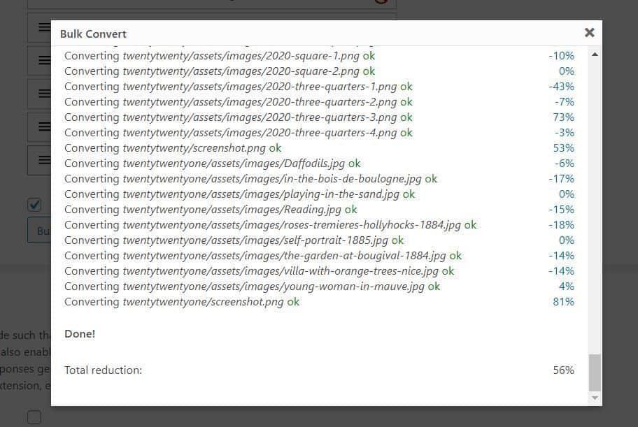 Imágenes Webp Plugin
